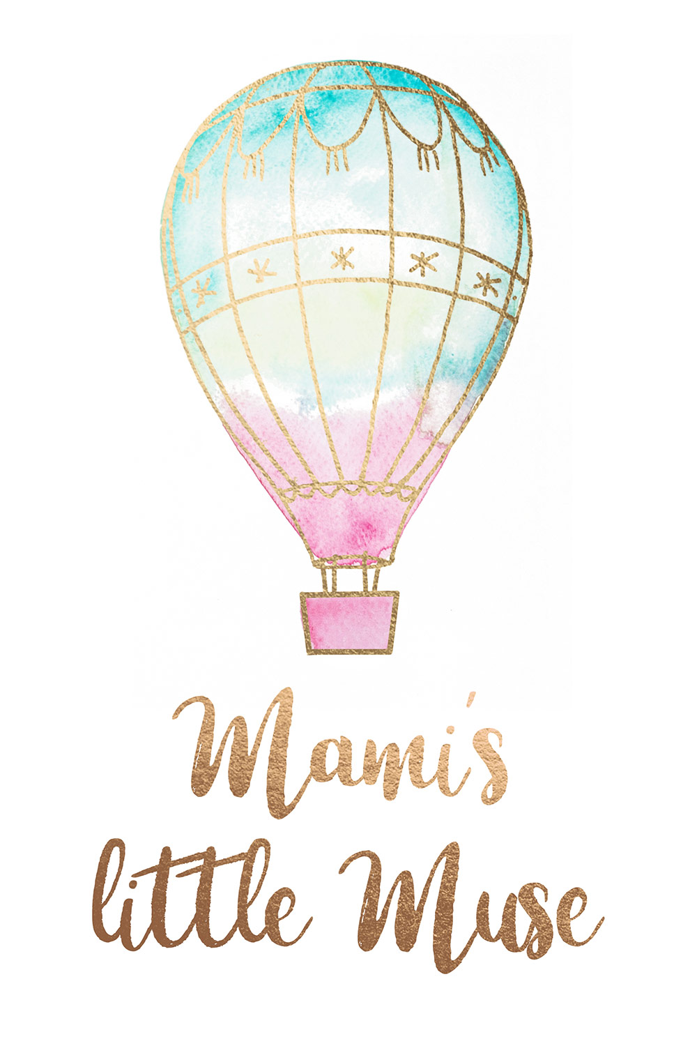 etsy shop branding design by heartmade.es for Mamis Little Muse