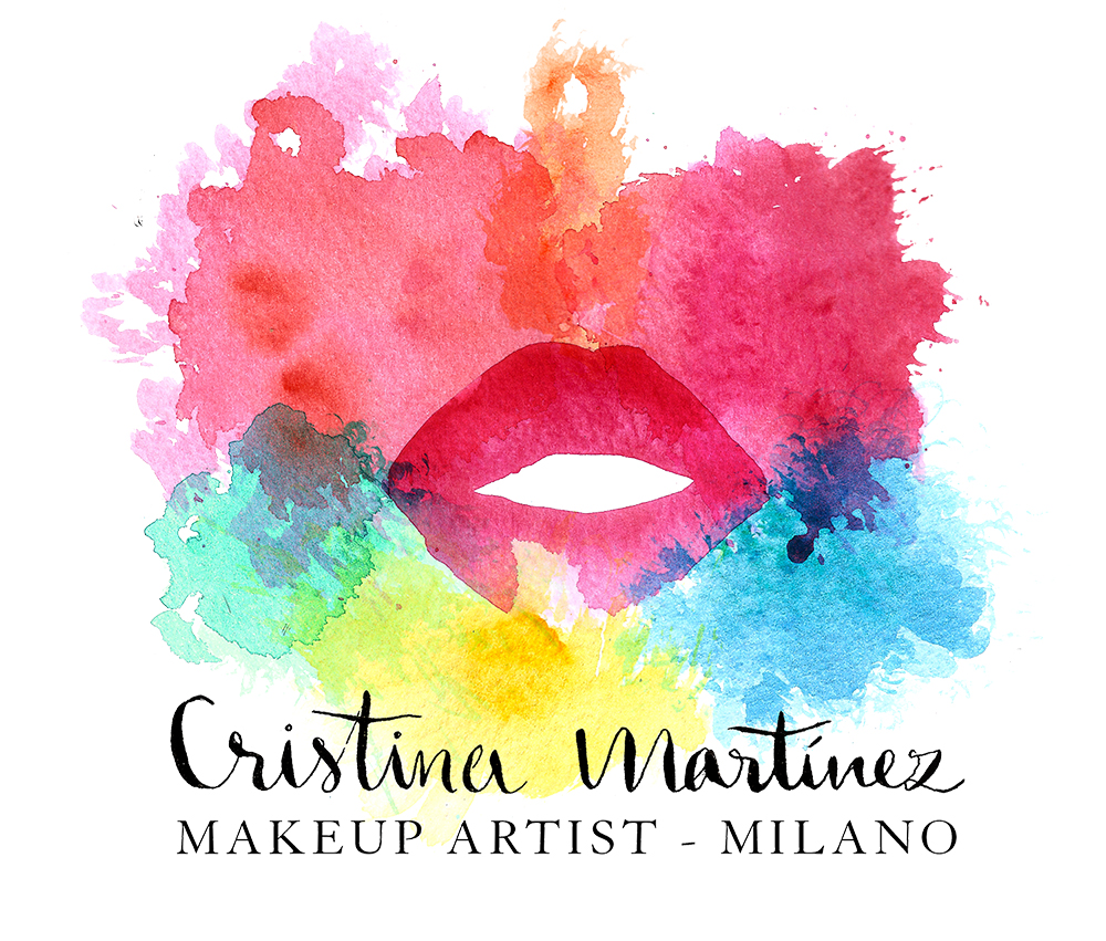 Makeup Artist Logo Design for Cristina Martinez by Heartmade.es