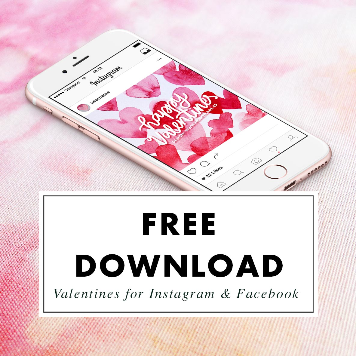 Valentines Day promotional images - FREE download!