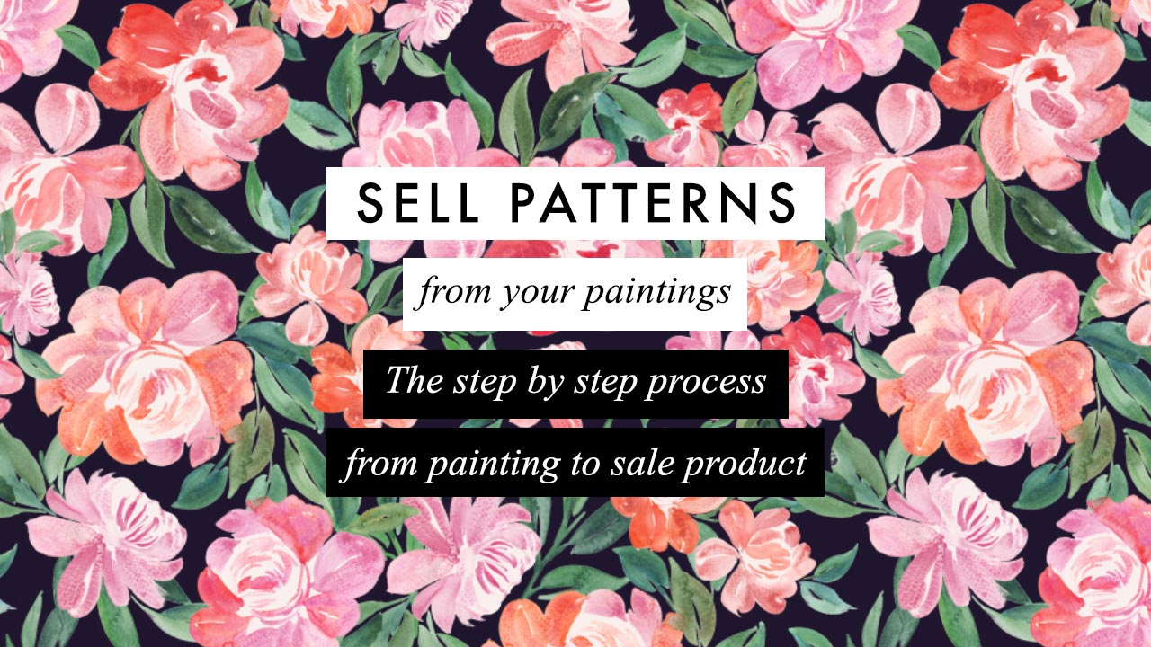 Sell Patterns from your Paintings