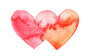 everything I do, I do it from the heart - Claudia byheartmade - branding strategy & web design