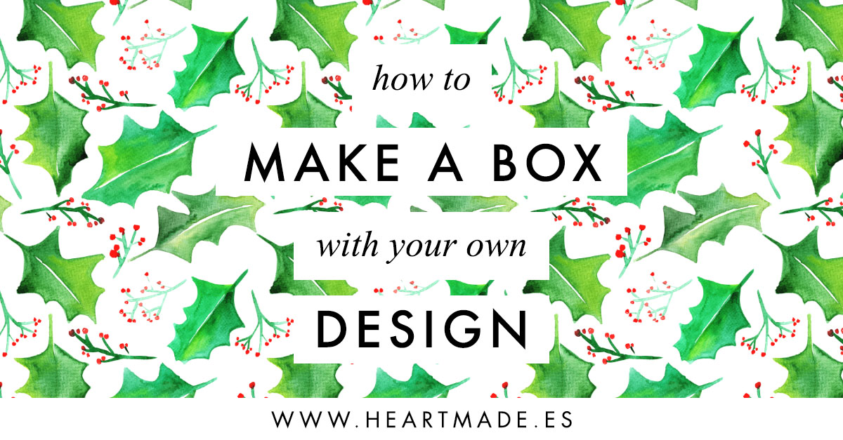 how to make a heart gift box