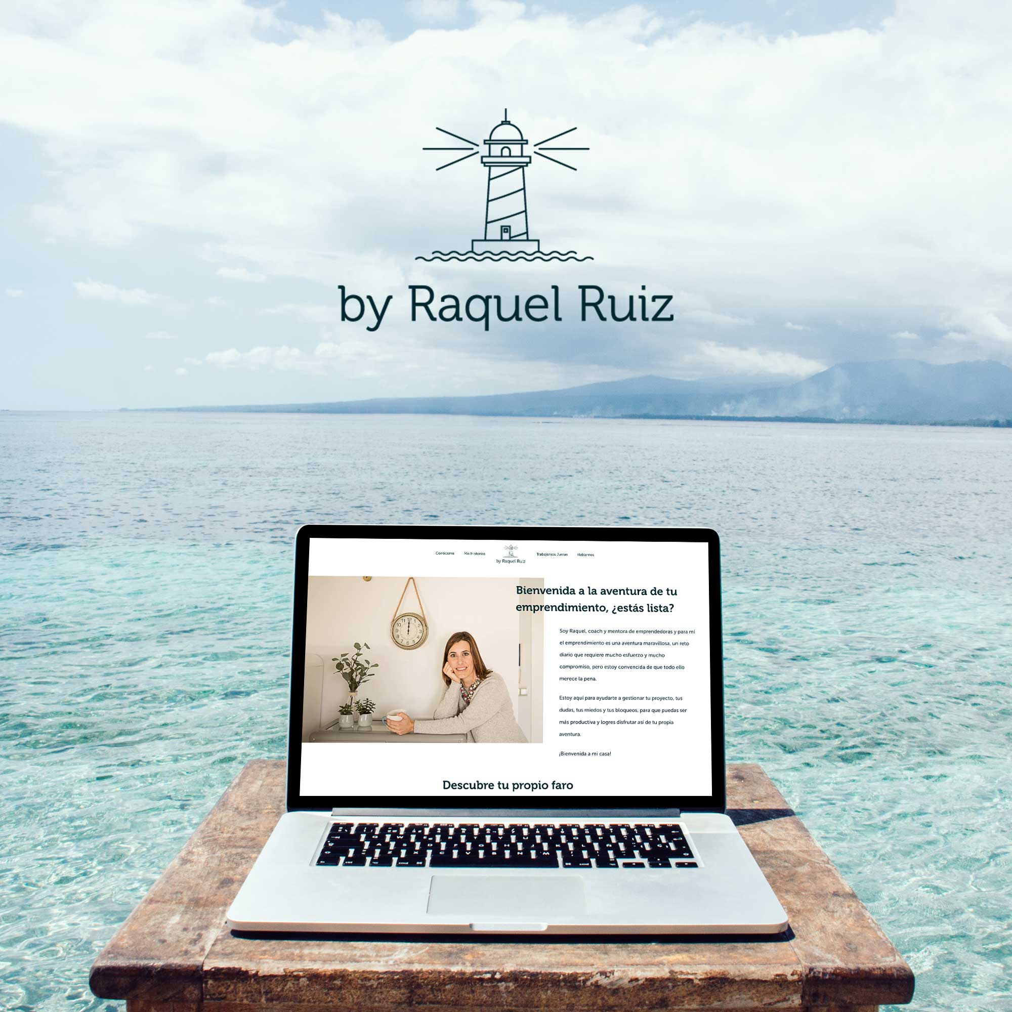 Web design for the coach By Raquel Ruiz - heartmade.es