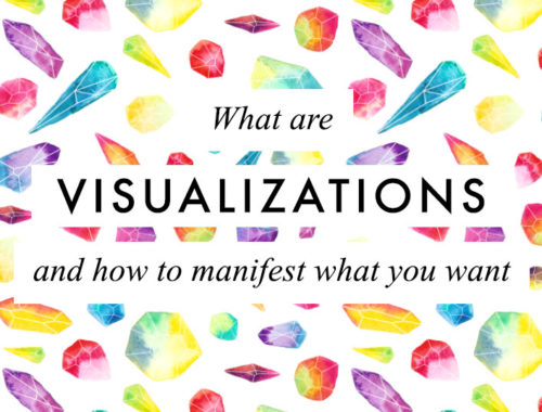 What are visualisations explained and how to manifest all what you want