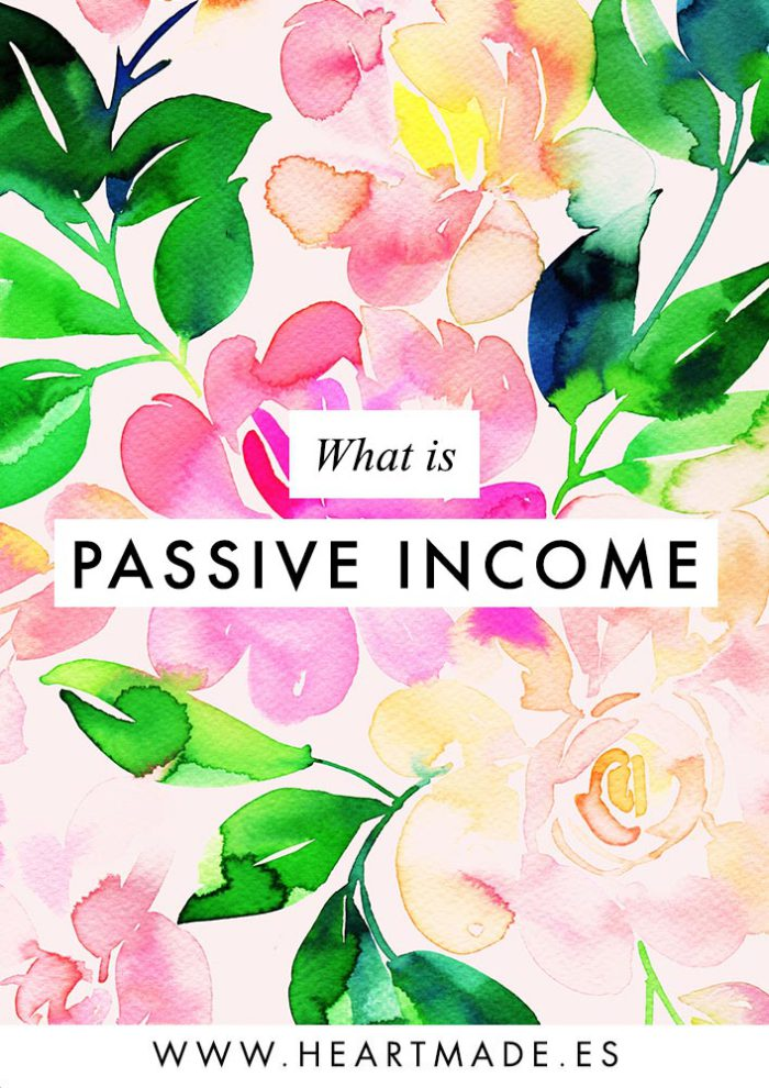What is Passive Income and Why it's the best thing for a creative business