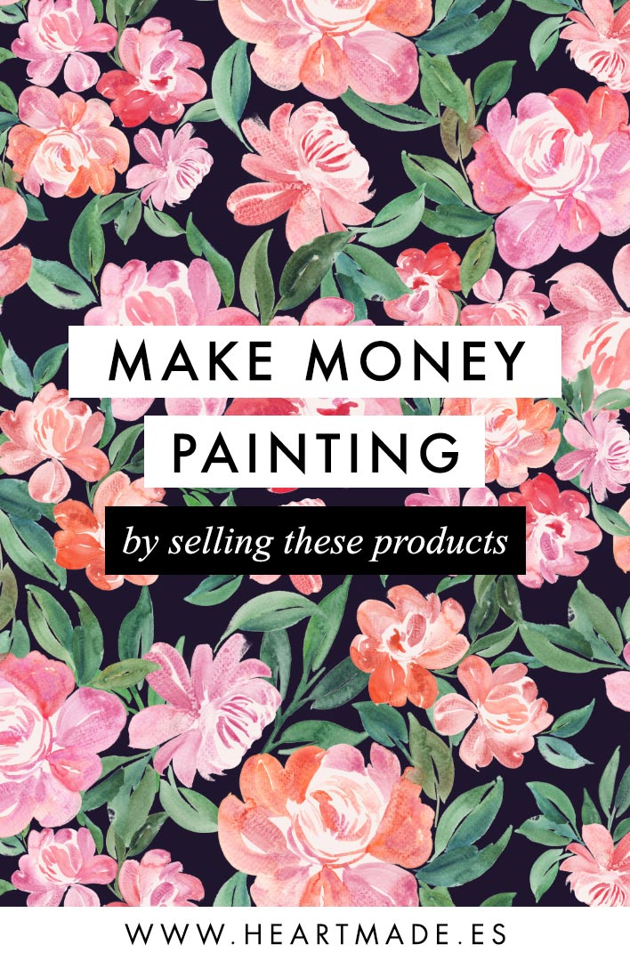 how to make money selling art