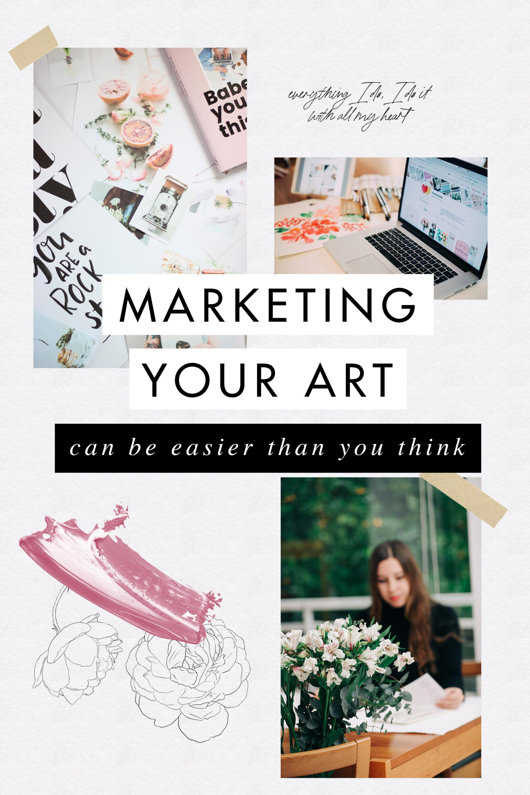 hy Getting Your Art Noticed Online Is Difficult? Learn how marketing your art can be easier than you think